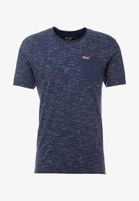 INDICODE JEANS - HULSA - T-shirt print - navy - 4