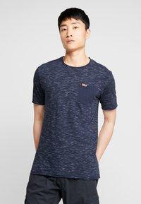 INDICODE JEANS - HULSA - T-shirt print - navy - 0
