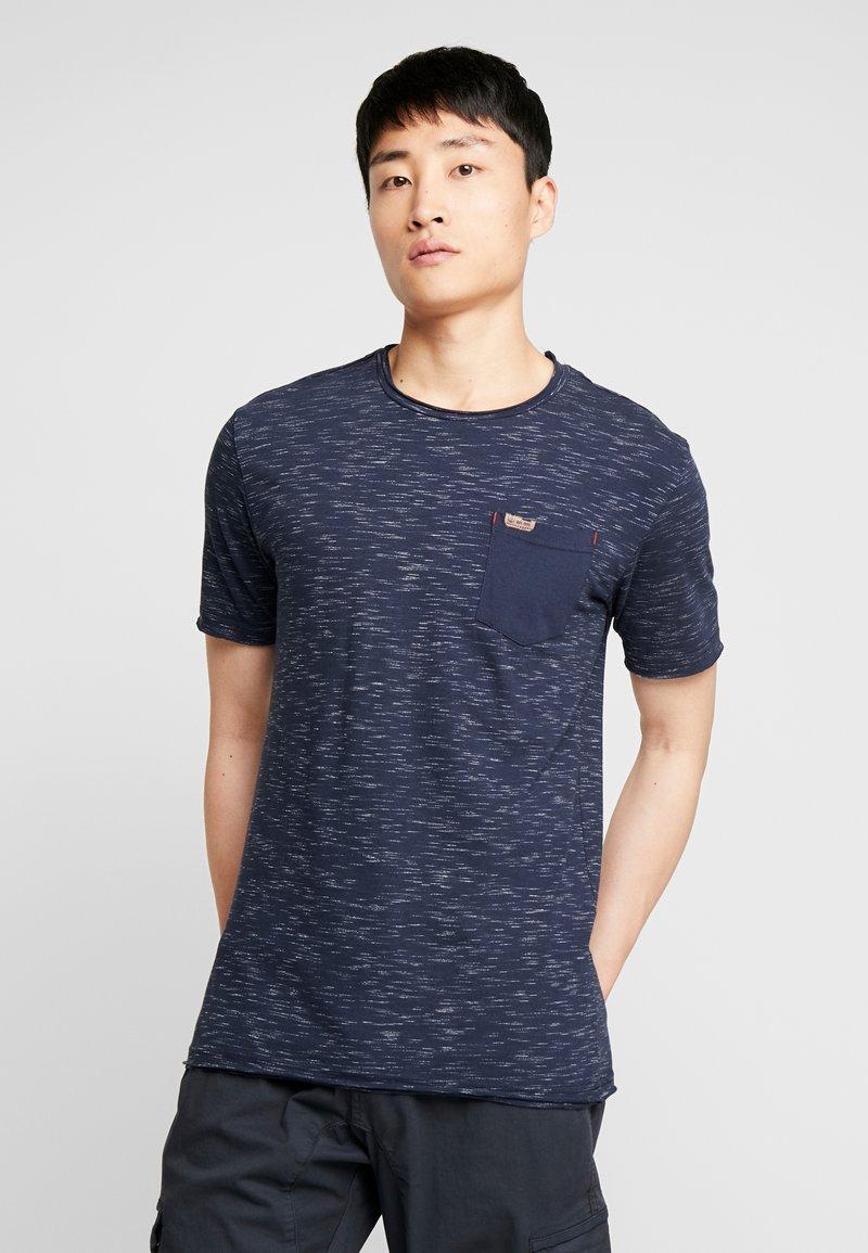 INDICODE JEANS - HULSA - T-shirt print - navy