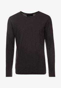 INDICODE JEANS - SONDERBORG - Long sleeved top - black - 4
