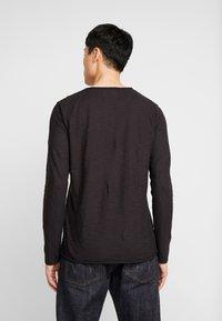 INDICODE JEANS - SONDERBORG - Long sleeved top - black - 2