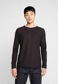 INDICODE JEANS - SONDERBORG - Long sleeved top - black - 0