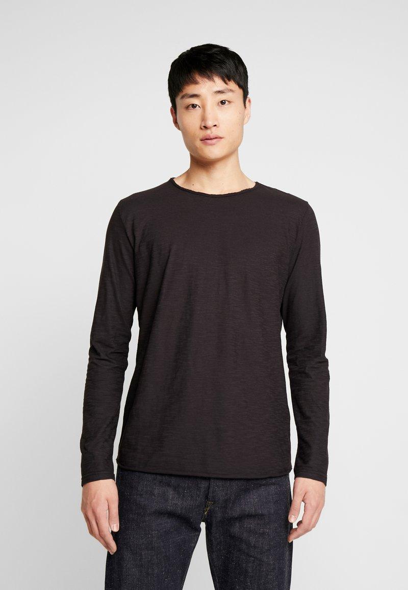 INDICODE JEANS - SONDERBORG - Long sleeved top - black