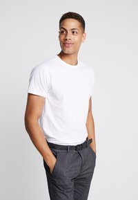 INDICODE JEANS - AARS 2 PACK - T-shirt basic - weiß - 1