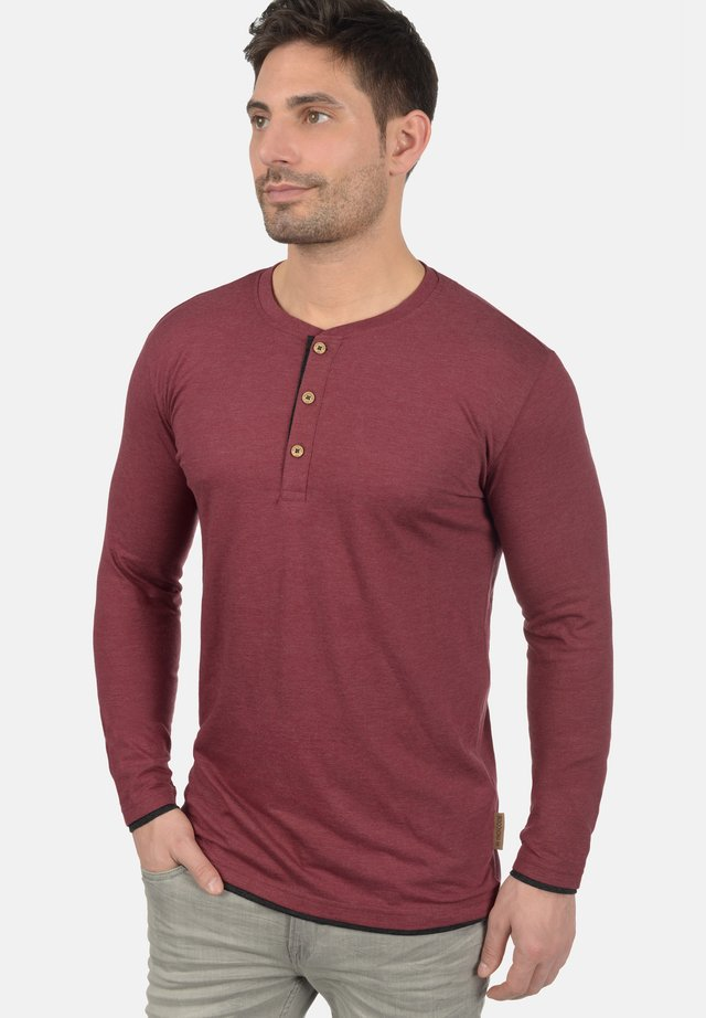 GIFFORD - Long sleeved top - dark red