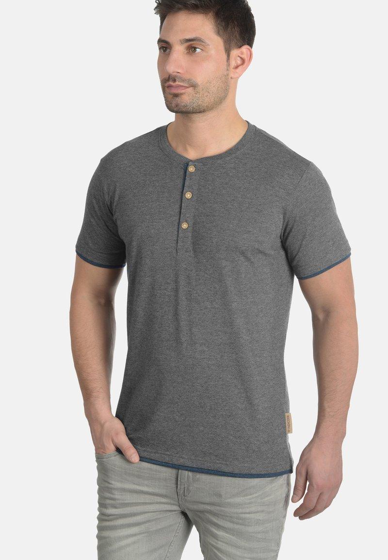 INDICODE JEANS - TONY - T-Shirt basic - grey mix