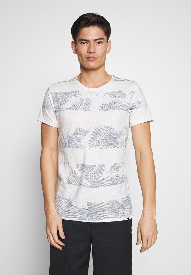 ALLEN - Print T-shirt - offwhite