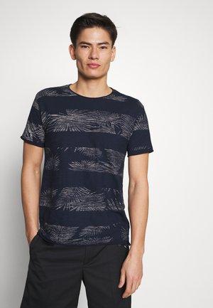 ALLEN - T-shirt imprimé - navy