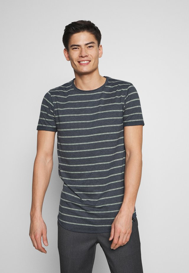DUNKERQUE - T-Shirt print - navy mix