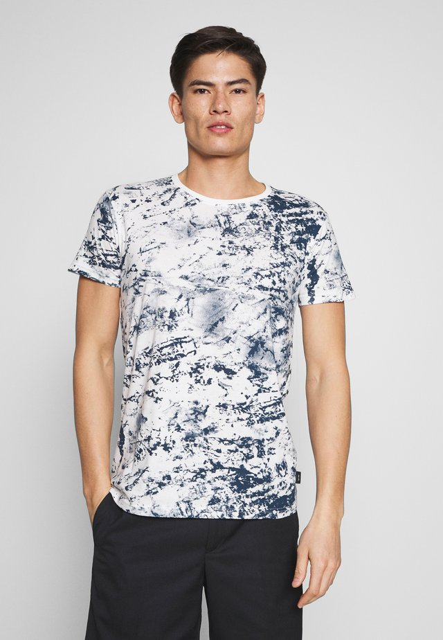 FAABORG - T-shirt med print - off white