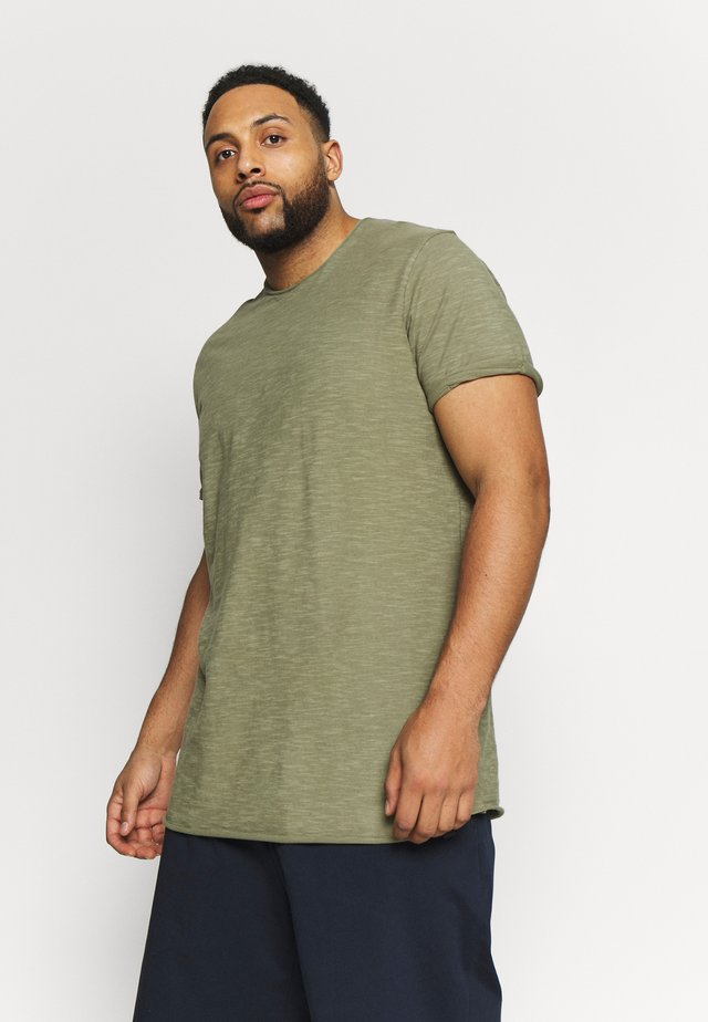 ALAIN - Basic T-shirt - army
