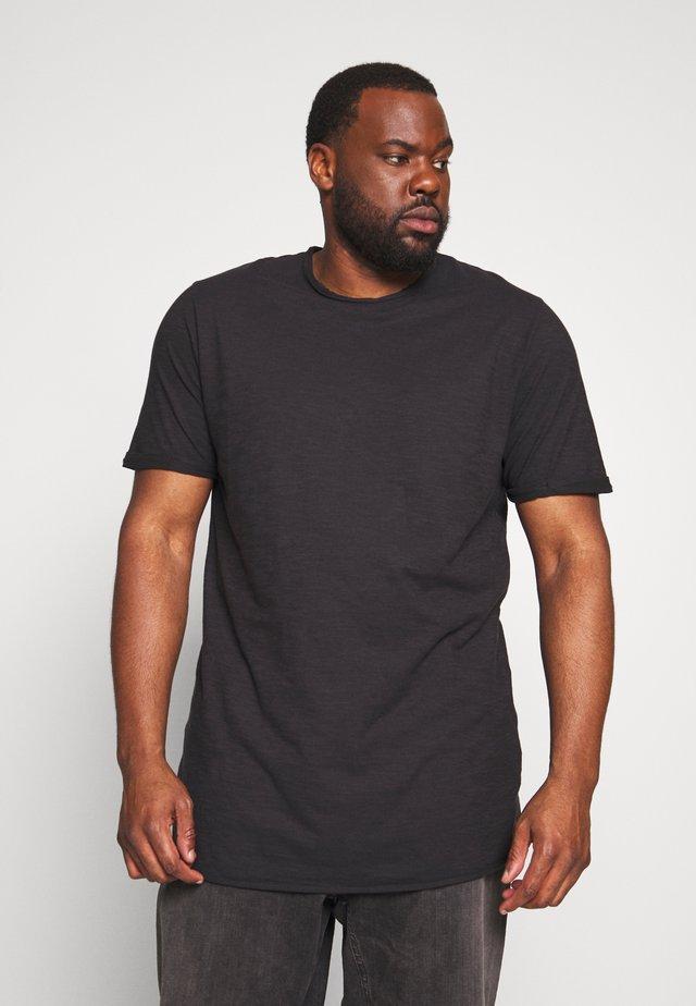 ALAIN - T-Shirt basic - black