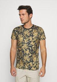 INDICODE JEANS - TOLEDO - Print T-shirt - black - 0