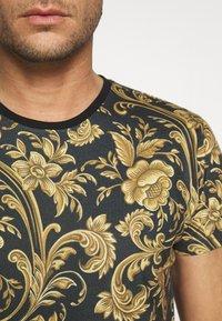 INDICODE JEANS - TOLEDO - Print T-shirt - black - 5