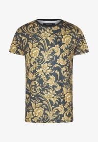 INDICODE JEANS - TOLEDO - Print T-shirt - black - 4
