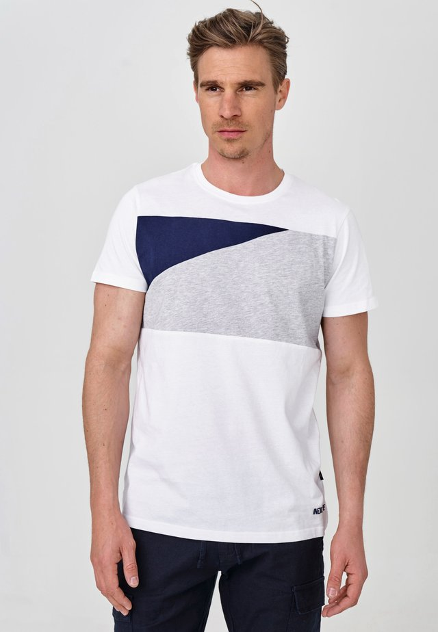 EBEL - T-Shirt print - optical white