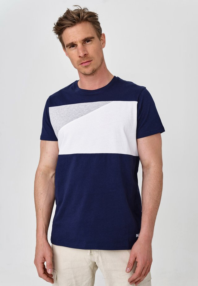 EBEL - T-Shirt print - navy