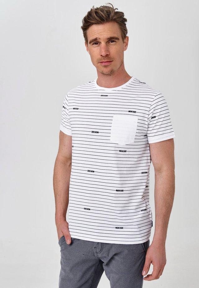 ECKLEY - T-Shirt print - optical white