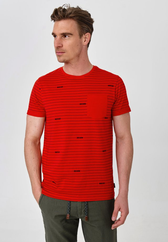 ECKLEY - T-Shirt print - goji berry