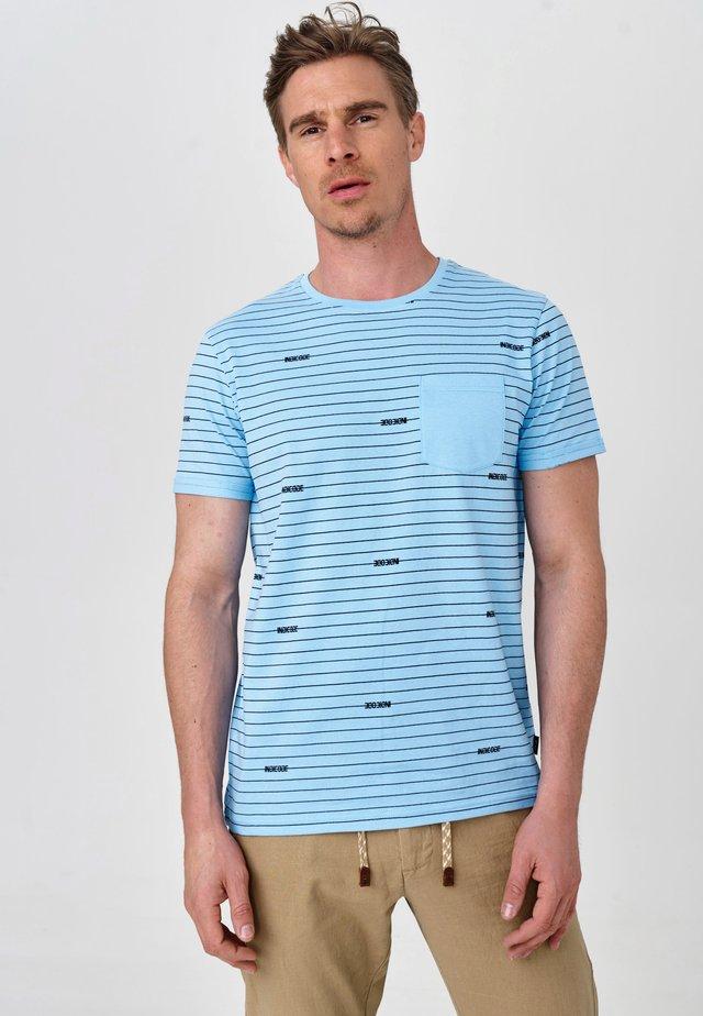 ECKLEY - T-Shirt print - alaska blue
