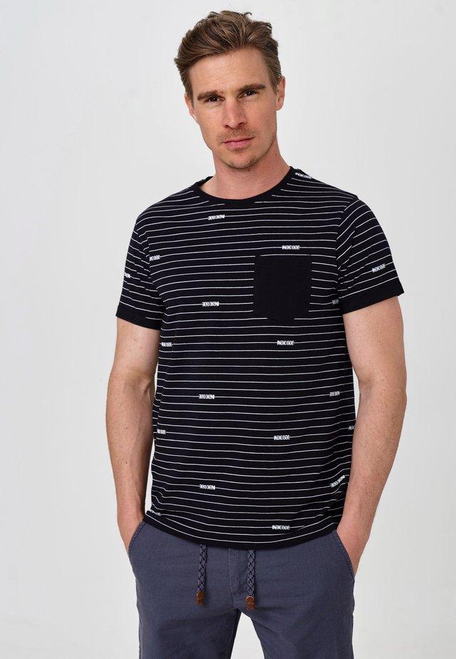 ECKLEY - T-Shirt print - black
