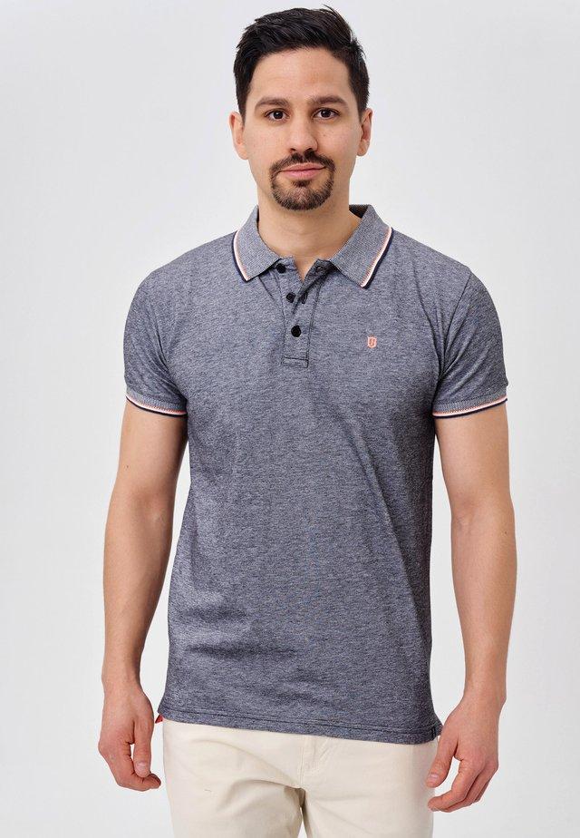 FUENGIROLA - Polo shirt - black/blue