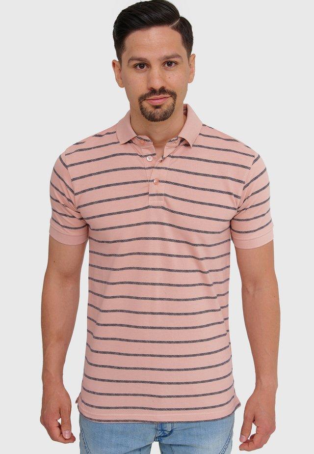 Polo shirt - cameo rose