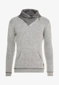 INDICODE JEANS - DANE - Jersey de punto - light grey - 5