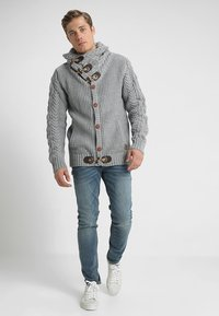 INDICODE JEANS - STONE - Maglione - light grey mix - 1
