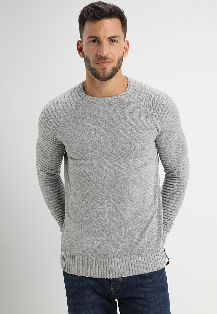 INDICODE JEANS - MAXIME - Strickpullover - light grey