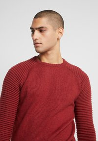 INDICODE JEANS - MAXIME - Maglione - red ochre - 3
