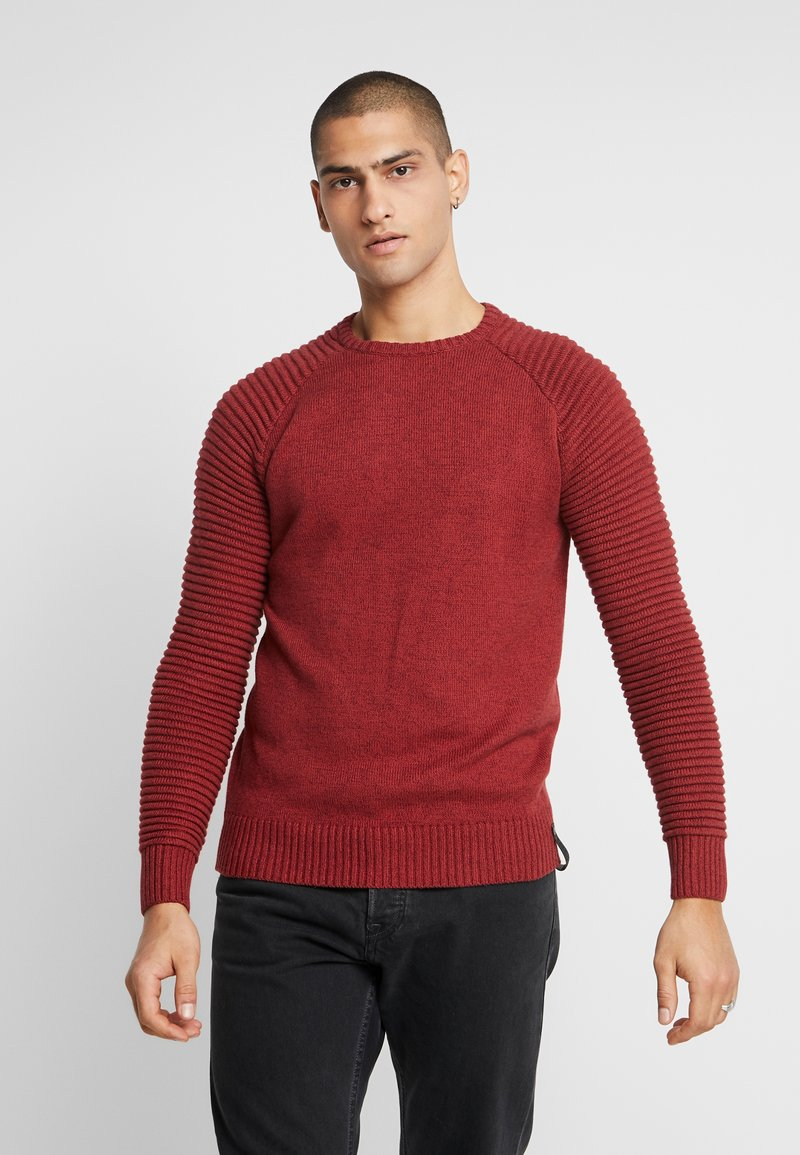 INDICODE JEANS - MAXIME - Maglione - red ochre