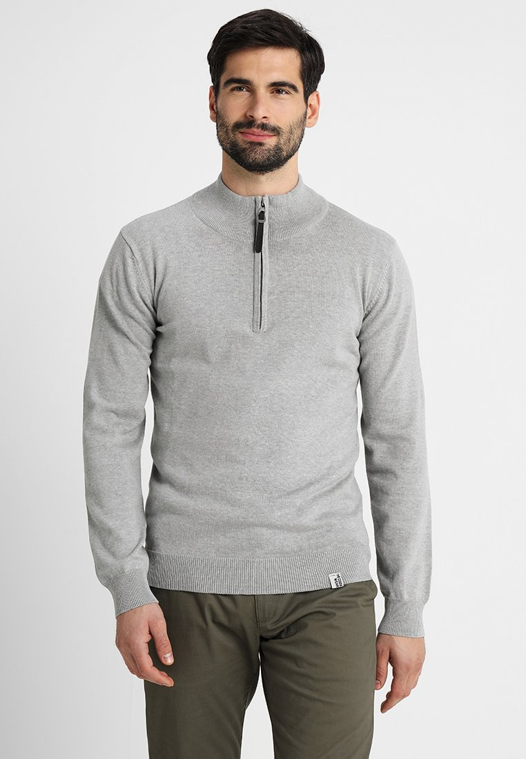 INDICODE JEANS - GHENEY - Jumper - light grey