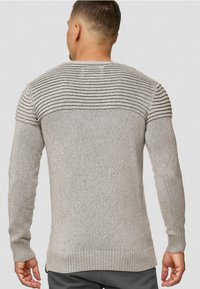 INDICODE JEANS - Pullover - light grey - 2