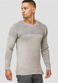 INDICODE JEANS - Pullover - light grey - 0
