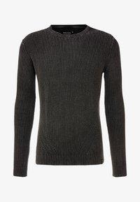 INDICODE JEANS - ECKFORD - Stickad tröja - black - 4
