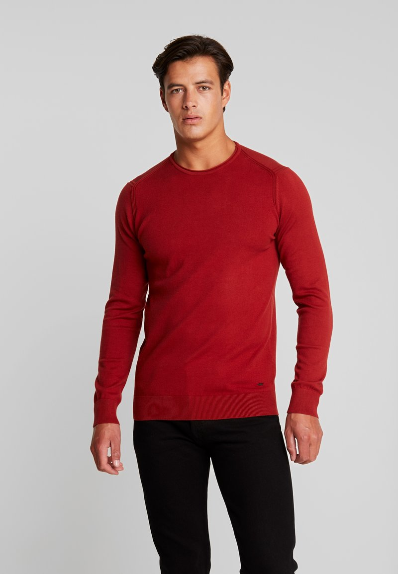 INDICODE JEANS - COMMONDALE - Maglione - red ochre