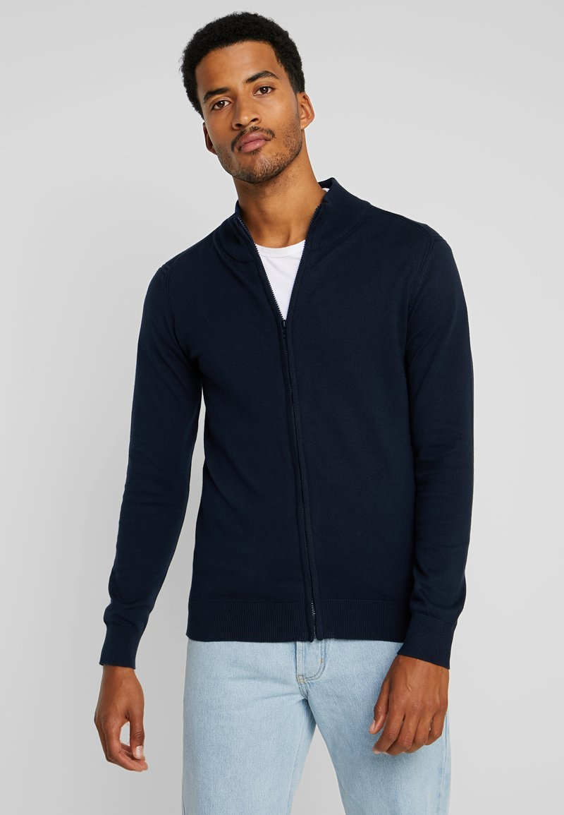 INDICODE JEANS - CHANCELLOR - Cardigan - navy