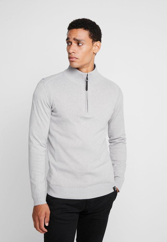 ANACONA - Strikkegenser - light grey