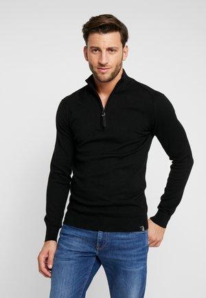 ANACONA - Pullover - black