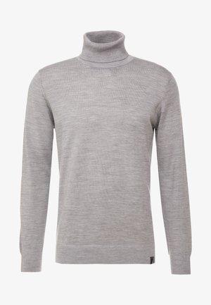 KERWI MERINO  - Sweter - light grey mix