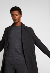 INDICODE JEANS - CASTLEREAGH MERINO WOOL - Trui - charcoal mix - 4