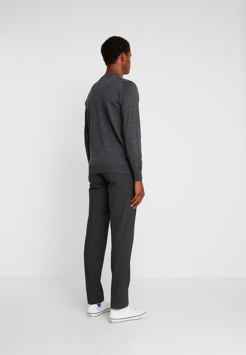INDICODE JEANS - CASTLEREAGH MERINO WOOL - Trui - charcoal mix