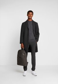 INDICODE JEANS - CASTLEREAGH MERINO WOOL - Trui - charcoal mix - 1
