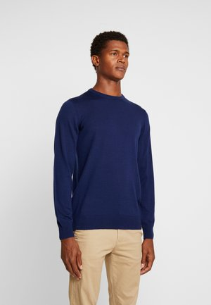 CASTLEREAGH MERINO WOOL - Strickpullover - navy