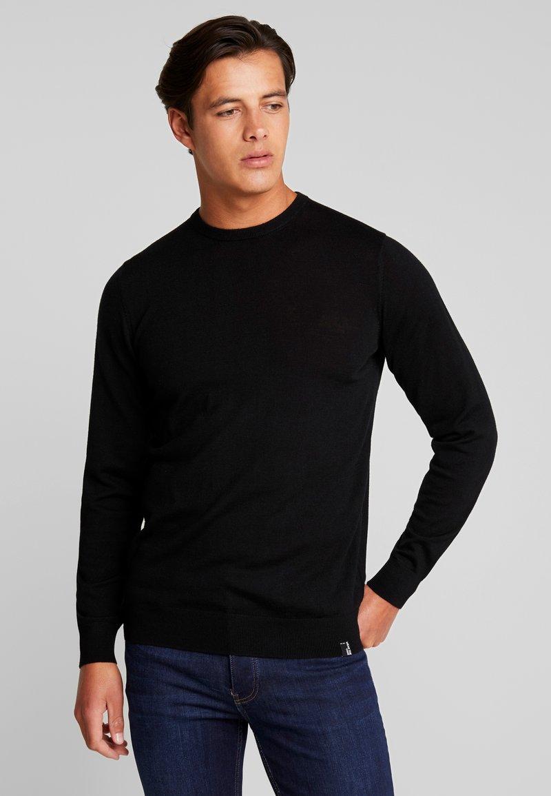 INDICODE JEANS - CASTLEREAGH MERINO WOOL - Jersey de punto - black