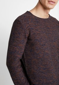 INDICODE JEANS - KRISTIAN TWISTED - Jumper - navy - 4