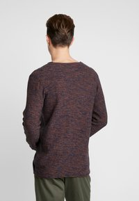 INDICODE JEANS - KRISTIAN TWISTED - Jumper - navy - 2