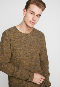 INDICODE JEANS - KRISTIAN TWISTED - Jumper - charcoal mix - 4