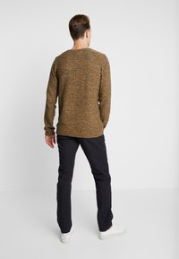INDICODE JEANS - KRISTIAN TWISTED - Jumper - charcoal mix - 2